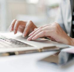 laptop typen