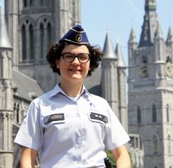 Politiecommissaris  Liesbeth Vermaelen