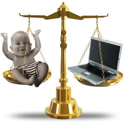 evenwicht werk-privé