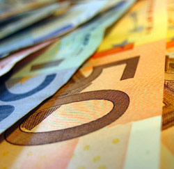 Geldbriefjes euro