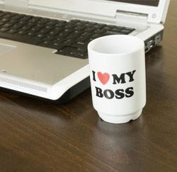 i love my boss tas