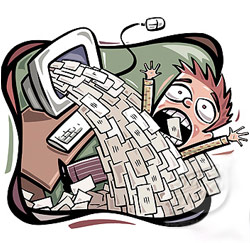 e-mail tsunami