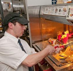 werken bij McDonald's