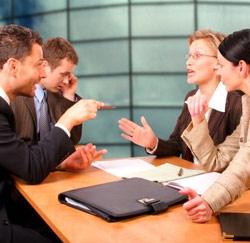 meeting discussie