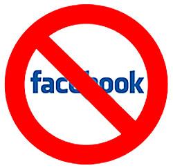geen facebook