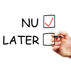 nu vs. later