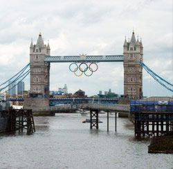 Olympische Spelen Tower Bridge
