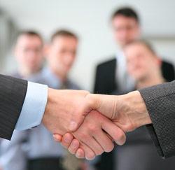 onderhandeling succes