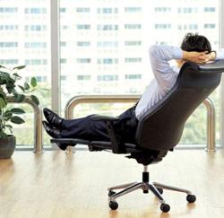 ontspannen stoel
