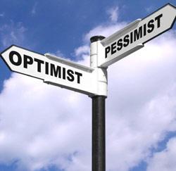 optimist pessimist