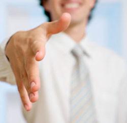 presentatie hand