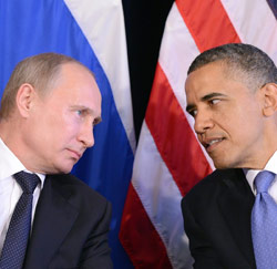 President Poetin vs. president Obama