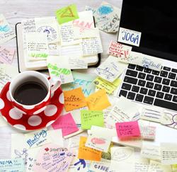 rommel op je bureau