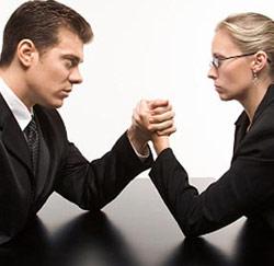 Le salaire d' hommes vs. de femmes