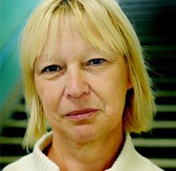 Schoonmaakster Linda Lambetit