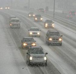 sneeuw auto