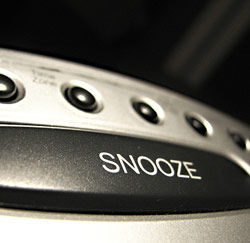 snooze-knop