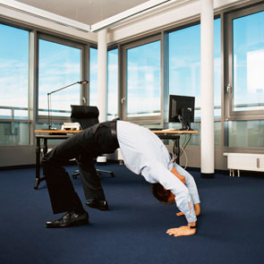 fit op het werk