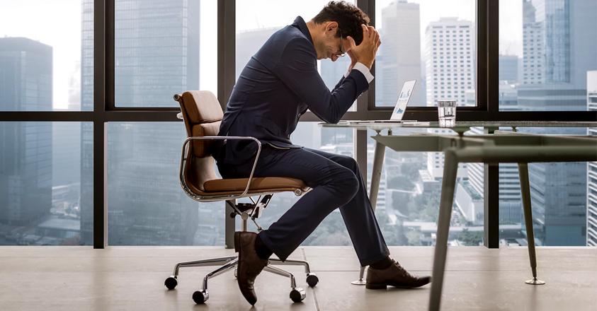 Stress op kantoor