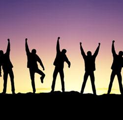 succes 5 mannen