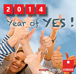 Synergie 2014 Year of Yes!