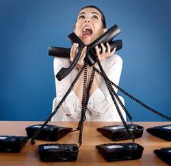 telefoon gek