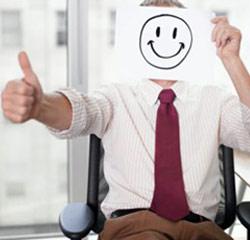 tevreden werknemer