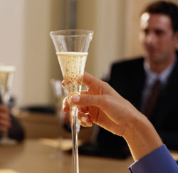 proost toast champagne