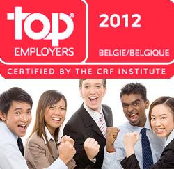 Top Employeurs 2012