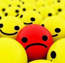 unhappy smiley