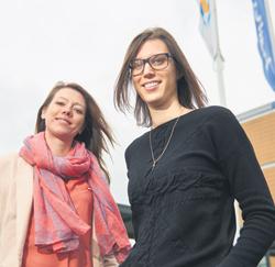 Maaike Van Delsen en Sara Callewaert