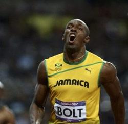 Sprintkampioen Usain Bolt