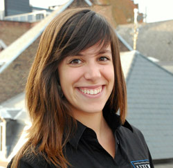 Stefanie Van Assche, jobstudent Utopolis Mechelen