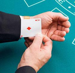 vals spelen kaart