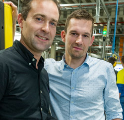 Steven Buysse en Hendrik Vanderbeken