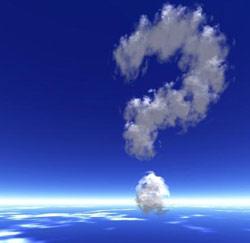 vraagteken wolken