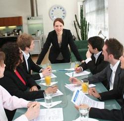 vrouw management
