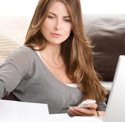 vrouw zoekt werk