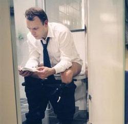 toiletgebruik op het werk