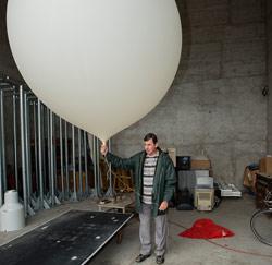 KMI weerballon