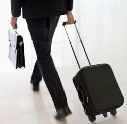 zakenreis koffer
