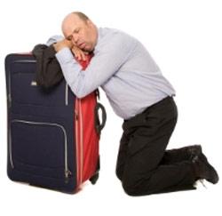 ziek op reis