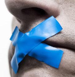 zwijgen tape