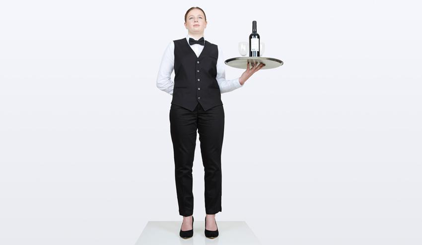 Een ober in 2030
