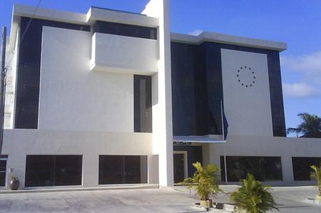 Les quartiers généraux de l'UE à Barbade