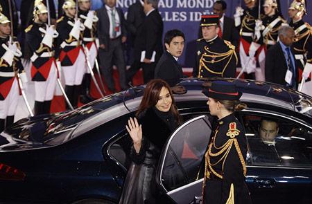 Fernandez de Kirchner op de G20-top