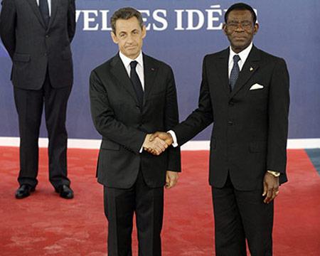 Sarkozy op de G20-top