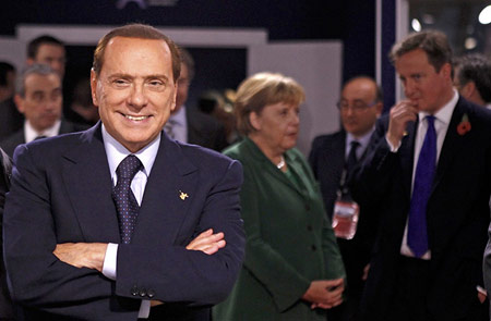 Berlusconi op de G20-top