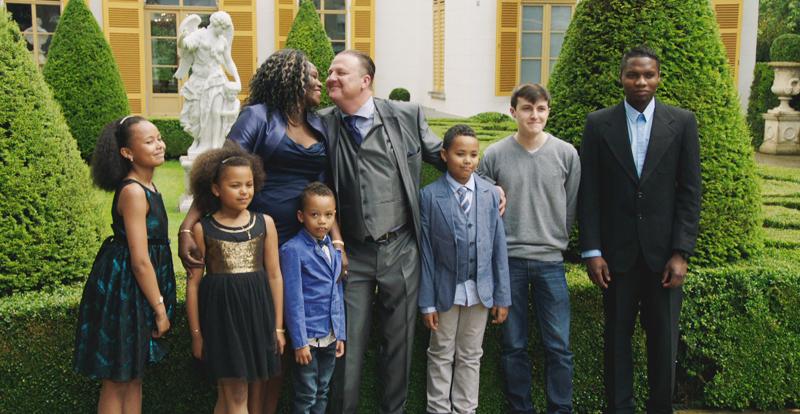 Peter Van den Berge en familie