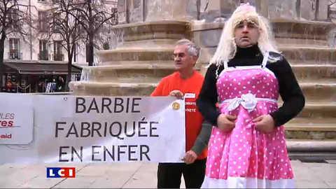 Barbie en colère